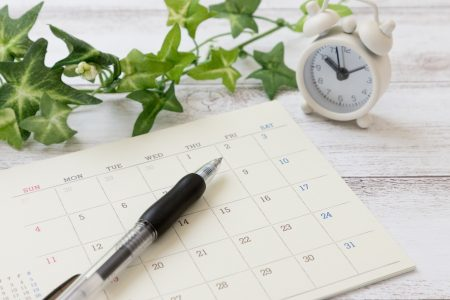 月間行事予定表(8月)を掲載しました